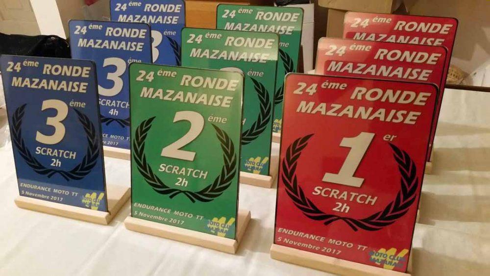 La Ronde Mazanaise 2017 : le planning